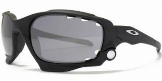 Jawbone Matte Black Grey Lens Bike Cycle MPH flat Military army 42 379