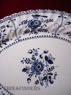 Johnson Brothers China Indies Blue Square Salad Plate