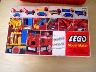 RARE Lego 310 Motorized Truck Set from 1968 w Box