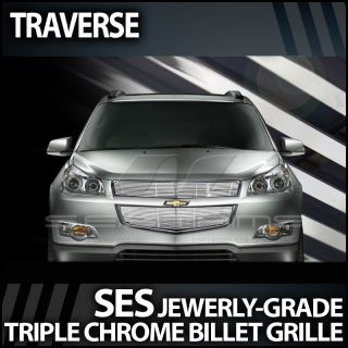 2009 2012 Chevy Traverse Ses Chrome Billet Grille