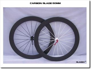 50mm Clincher Full Carbon Wheels Wheel Set for Road Bike