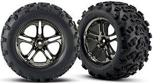 Traxxas 4983A Revo E Maxx T Maxx Tires Wheels