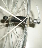 26 ALUMINUM QUICK RELEASE MOUNTAIN BICYCLE RIM/HUB BIKE PARTS BKR23