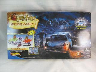 Harry Potter Spider Swarm Hot Wheels Playset Weasley Flying Car