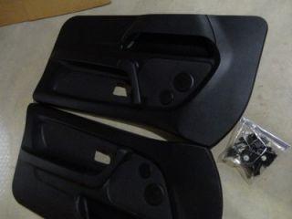 95 99 BMW E36 318TI Black Front Door Panels Excellent Condition