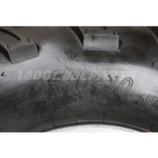 Right Rear 22x10 10 Wheel Tire Rim ATV Quad Go Kart Buggy 250cc taotao