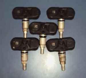 07 08 09 Lexus ES350 5 Tire Pressure Sensors TPMS