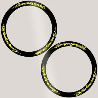 Campagnolo Deep Rim Carbon Bike Wheel Decal Sticker Kit