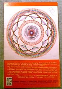 1967 Original Kenner Spirograph 401 Complete Disc Set