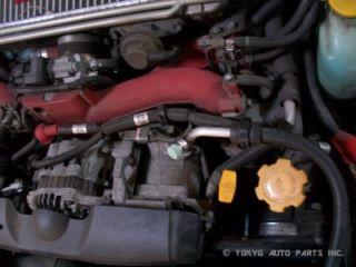 JDM 2002 Subaru Impreza WRX STI Version 7 Engine Transmission Swap