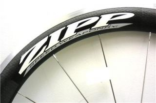 2011 Zipp 404 Carbon Clincher Front Wheel CLOSEOUT MSRP $1035 New