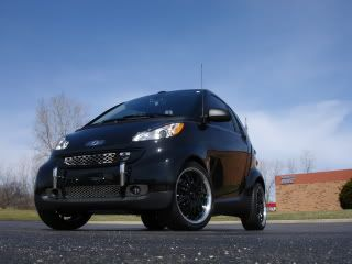 Smart Car Fortwo 451 Front Stainless Steel Bumper Bars