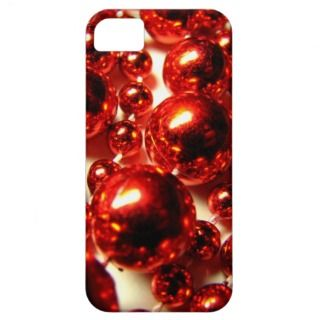 Red Beads iPhone Case iPhone 5 Cases