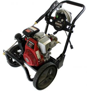 Black Max BM80915 3000 PSI 2 5 GPM Gas Power Pressure Washer w Honda