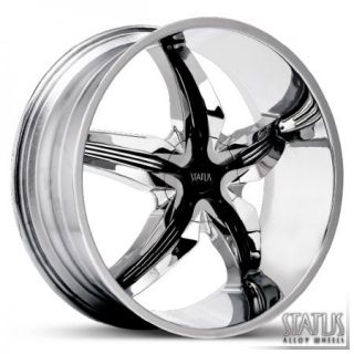 20 Chrome Wheels Rims DeVille cts Impala Monte Carlo