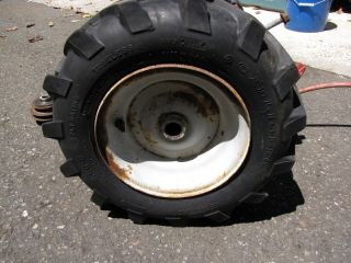 PTO Type Transmission w Wheels Tires Troy Bilt Horse Rototiller Roto