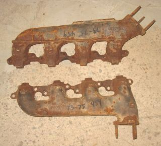 You are bidding on a pair of used original 454 exhaust manifolds for