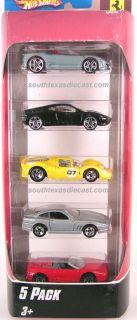 2007 Hot Wheels Ferrari 5 Pack International Cars RARE VHTF F430 F355