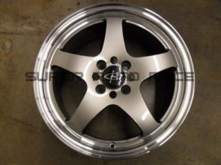 Rota Wheels J Special 16x7 37 4x100 Steel Gray with Polished Lip Honda
