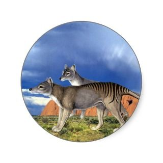 Tasmanian Tiger Sticker