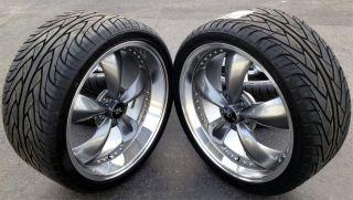 Mustang Bullitt Wheels 20x8 5 10 20 inch Tires 2005 Rims Deep Dish