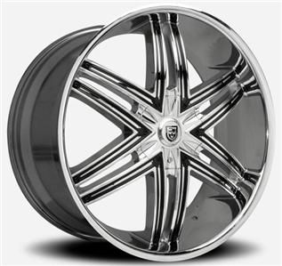 inch 26x10 Lexani Advocate chrome wheel rim 5x150 Tundra Sequoia LX470