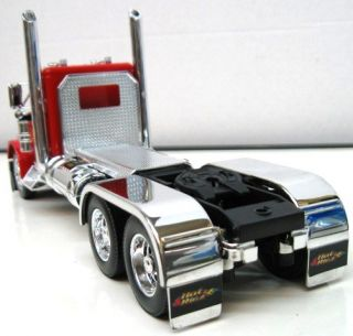 Jada Hot Rigz Peterbilt 379 Hot Rod Semi Red 1 32