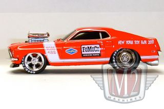 M2 Machines New York Toy Fair 1969 Ford Mustang Boss
