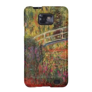 Monet's Water Lily Pond Samsung Galaxy S Cases