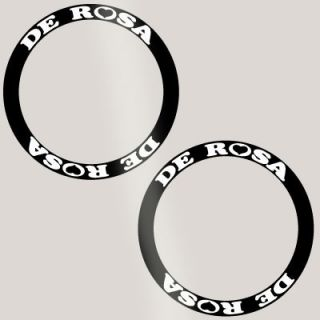 De Rosa Deep Rim Carbon Bike Wheel Decal Sticker Kit