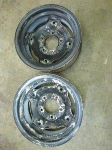 Suburban Tractor Rim Wheel Pair 6 12 No Tire Cub Cadet John