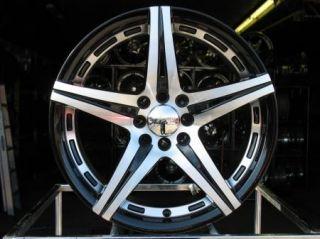 17 Black Wheels Rims Civic Corolla Miata Aveo Cobalt