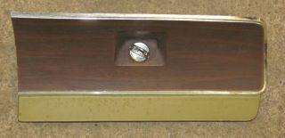 1972 72 Dodge Dart Glovebox with Woodgrain Trim Panels Glove Box Wood