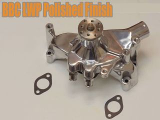 Polished Aluminum Big Block Chevy High Volume Long Water Pump BBC