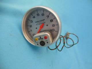 Auto Meter Pro Comp Ultralite Memory Tachometer 5 Face NASCAR Arca