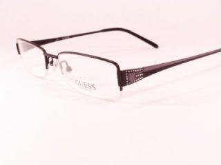 New Ladies Womens Designer Glasses Frames Guess GU 1489 Black Lilac
