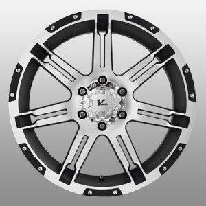 Rock Overdrive Black Wheels Rims 5x150 Tundra Sequoia LX470