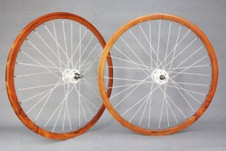 Velocity Deep V Track Wheels Teak Fixed Gear 700c