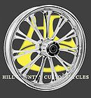 Imperial Chrome 21 FRONT Wheel pkg Harley Touring W/ABS 2008 & Up
