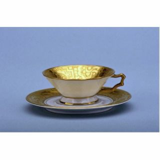 20th century tea cup and saucer, Bavaria, Germany Photo Cut Out