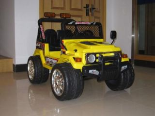 ThePower Wheels raptor wrangler 12 Volt Battery Powered Ride On is a