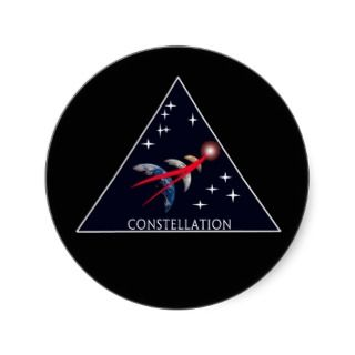 NASA Project Constellation Logo Round Sticker
