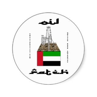 United Arab Emirates,Oil Patch,Decal,UAE,Oil Stickers