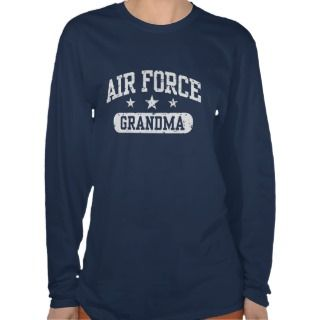 Air Force Grandma Tee Shirts