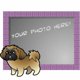 Cartoon Shih Tzu (mask puppy cut) Photo Cutouts
