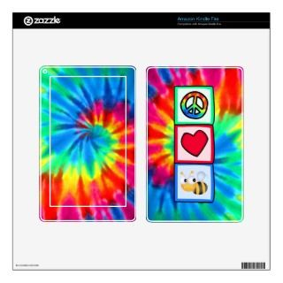 Peace, Love, Bees Skin For Kindle Fire