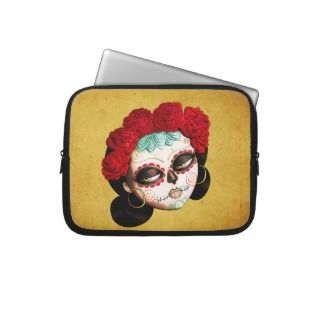 Beautiful Mexican Catarina Laptop Computer Sleeve