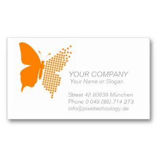 Business Card *Butterfly Pixel*