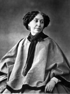 Portrait of George Sand, French Novelist Premium Photographic Print