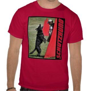 Schutzhund German Shepherd Dog shirt